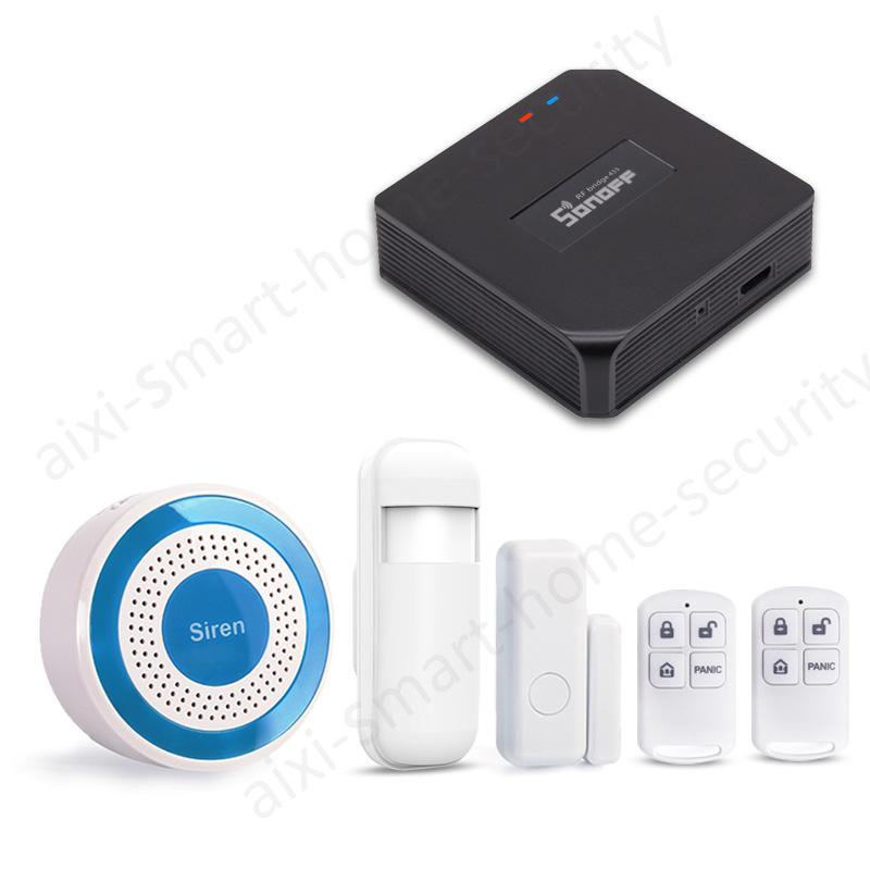 Smart Wi-Fi 433Mhz Indoor Siren Security Alarm System Sonoff