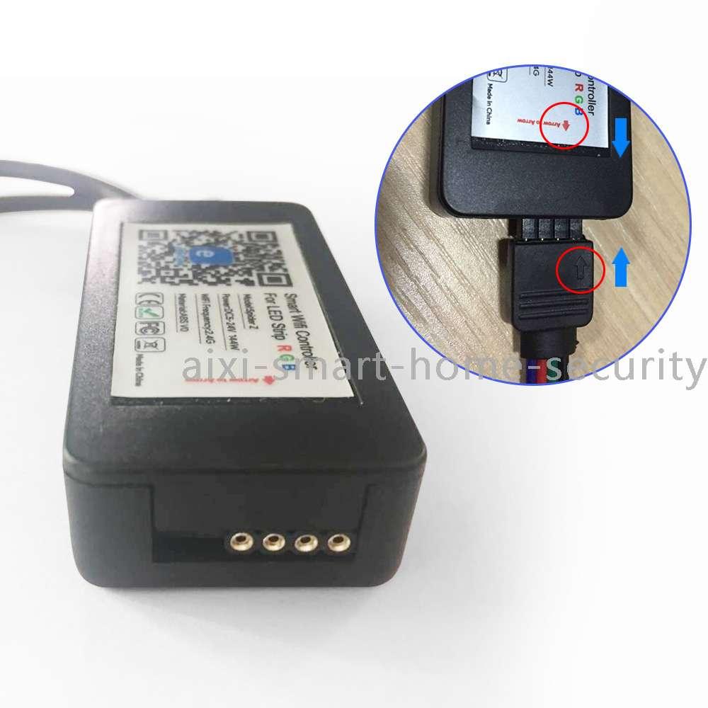 Aixi Shs Wi Fi Led Rgb Smart Controller Ewelink App Remote